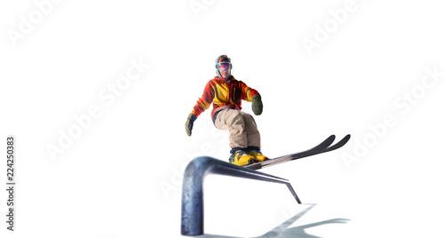 Skiing isolated