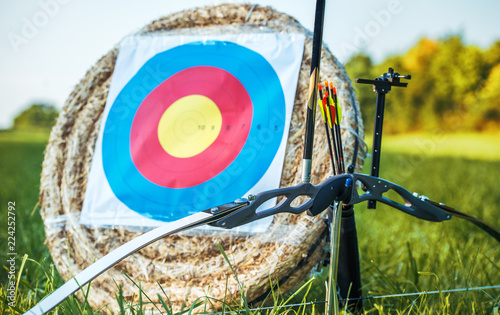 Archery. Sport, recreation concept