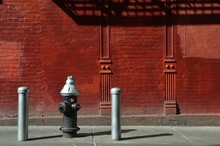 Street View In Chinatown, NYC,...