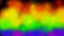 Colorful Abstract Rainbow Smoke Fire,modern Neon Lights.