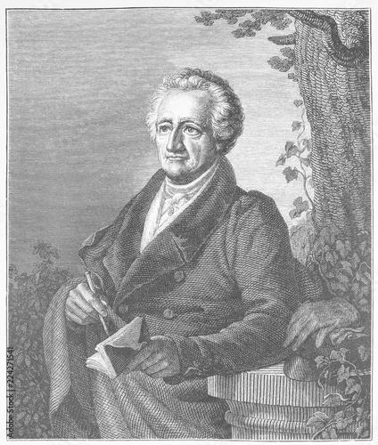 Fotografija  Johann Wolfgang Goethe, 1832