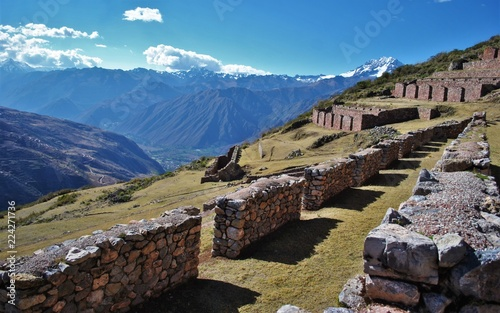 Foto op Aluminium Rudnes ruins above the sacred valley