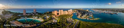Photo Atlantis Hotel on Paradise Island Nassau Bahamas Aerial Panorama