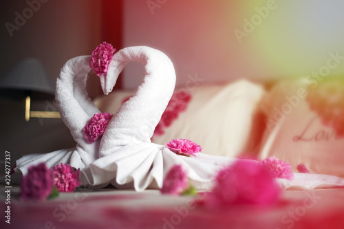 Wedding Room A romantic couple