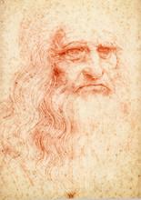 Leonardo Da Vinci Portrait Pos...