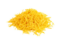 Pile Of Grated Cheddar Cheese ...
