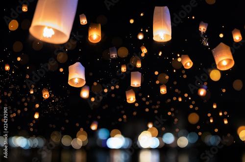 Fotografie, Obraz  Yi Peng Festival