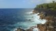Beautiful and rugged coastline of Hawaii.