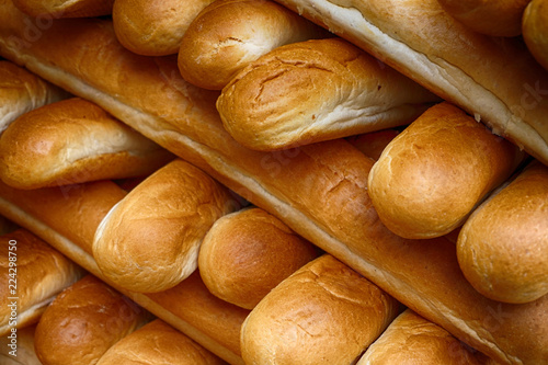 fresh rolls bread texture Wallpaper Mural