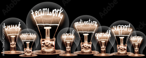 Photo  Light Bulbs Concept