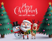 Christmas Vector Characters Li...
