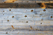 Wall texture made of old wooden board for background material