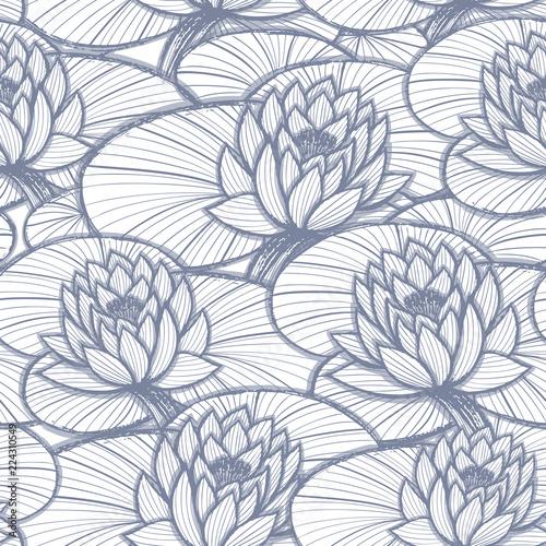 atrament-strony-ciagnione-lotos-bez-szwu-wzor-kolorowanki
