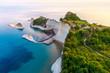 Leinwanddruck Bild - Beautiful view of Cape Drastis in the island of Corfu in Greece