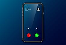 Iphone Incoming Call Screen Us...