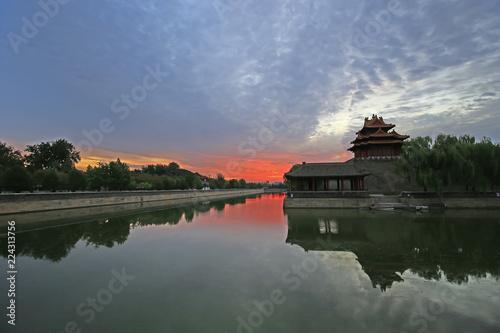Foto op Aluminium Beijing The Forbidden City in Beijing, China