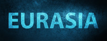 Eurasia Special Blue Banner Background
