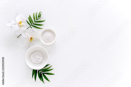 Foto op Plexiglas Spa Spa background with a space for a text