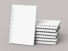 White Hard Cover Books
