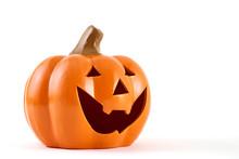 Halloween Pumpkin Happy Face