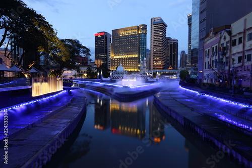 Foto op Canvas Kuala Lumpur Kuala Lumpur at the night, Malaysia
