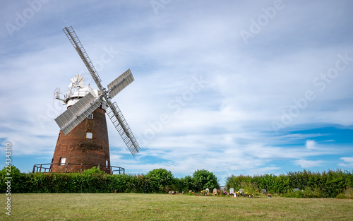 Thaxted Windmill, Essex, England Canvas Print