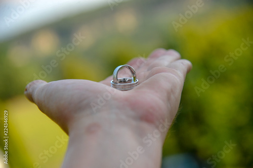 Eheringe Heiraten Hochzeit Symbol Ringe Buy This Stock Photo And