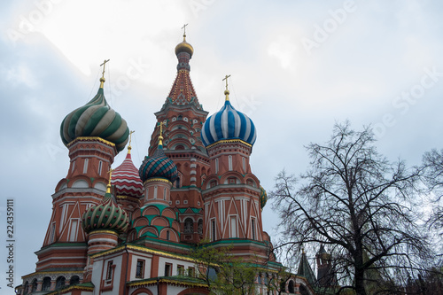 Foto op Plexiglas Moskou The Most popular Place in Moscow, Saint Basil Cathedral, Russia