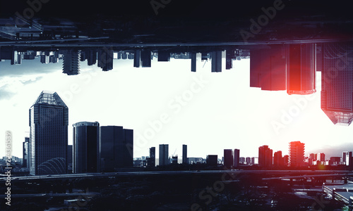 Photo  Big city never sleeps