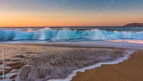 Fototapety, obrazy: Sunrise art Bore beach