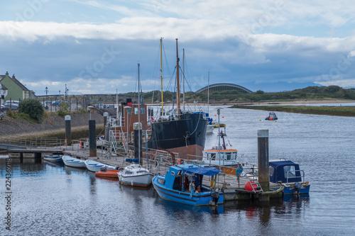 Photo  Irvine Harbour North Ayrshire Scotland