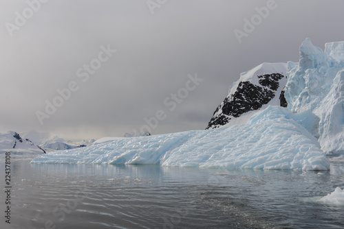 Poster Antarctica Glacier in Antarctica
