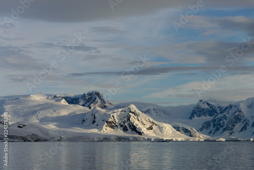 In de dag Antarctica Beautiful Antarctic landscape
