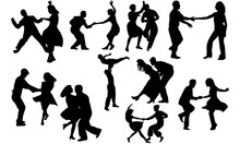Swing Dance Svg, Dance Cricut ...