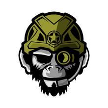 Tactical Monkey Logo Icon