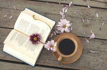 Book Of Coffee And Flowers