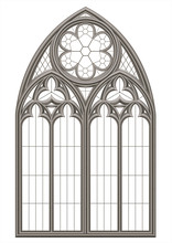 Medieval Gothic Stained Glass ...
