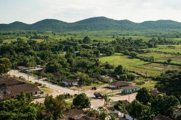 Fototapeta na wymiar Cuban landscape