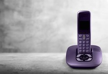 Cordless Modern Phone And Base Station