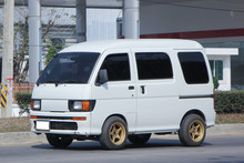 Private Daihatsu Old Van Car.