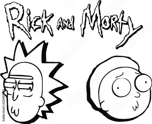 Vászonkép Rick & Morty