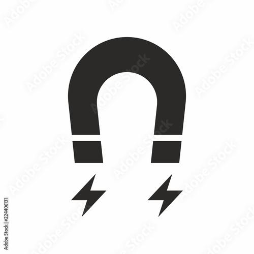 Magnet vector icon Canvas Print