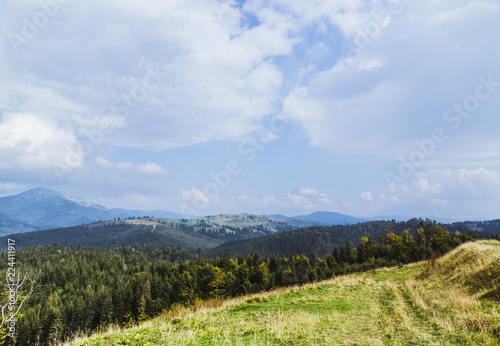 Unparalleled mountains of the Carpathians