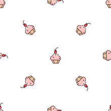 Seamless Pattern With Vector C...