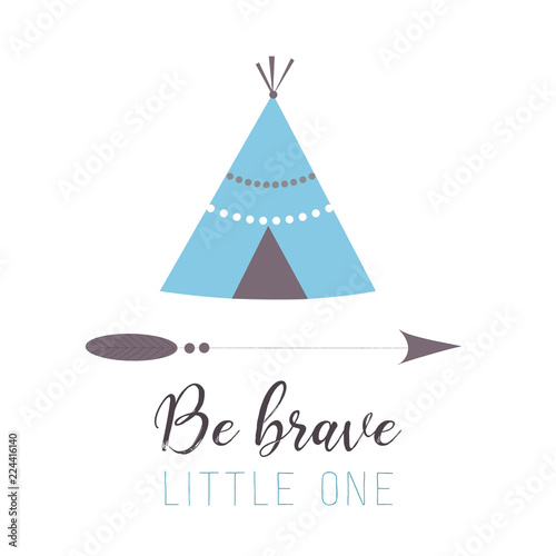 Fotomural Be Brave Little One