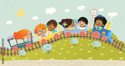 ilustracja-wielorasowe-dzieciaki