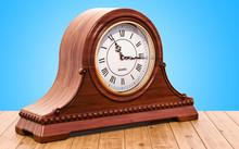 Retro Chimes Mantle Clock, She...