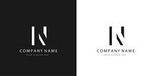 N Logo Letter Modern Design