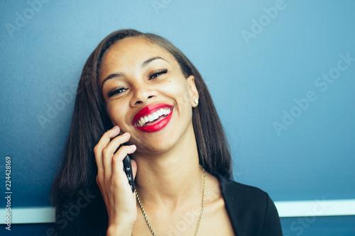 Portrait of Gen Z Black Woman