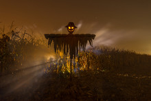 Sinister Scarecrow For Halloween